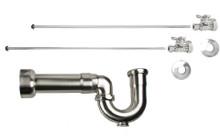 Mountain Plumbing MT622MASS-NL-VB New England Lavatory Supply Kit - Straight - Venetian Bronze