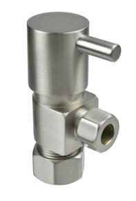 Mountain Plumbing MT5003L-NL-PN Compression Angle Valve - Polished Chrome