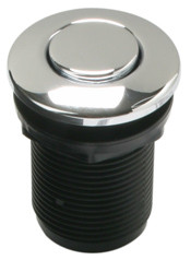 Mountain Plumbing  MT955-CPB   Round  Air Switch Push Button for Disposer  - Polished Chrome