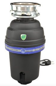 Mountain Plumbing  MT888-3CFWD3B  Perfect Grind Continuous Feed 3-Bolt Mount 1-1/4 HP Waste Disposer