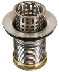 Mountain Plumbing  MT710-TB  Brass Bar or Food Prep Sink Strainer  - Tuscan Brass