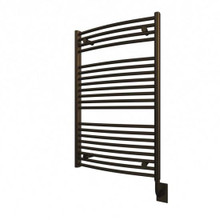 "Ico 23.5"" W x 37"" H Blenheim Hydronic Towel Warmer - Oil Rubbed Bronze"