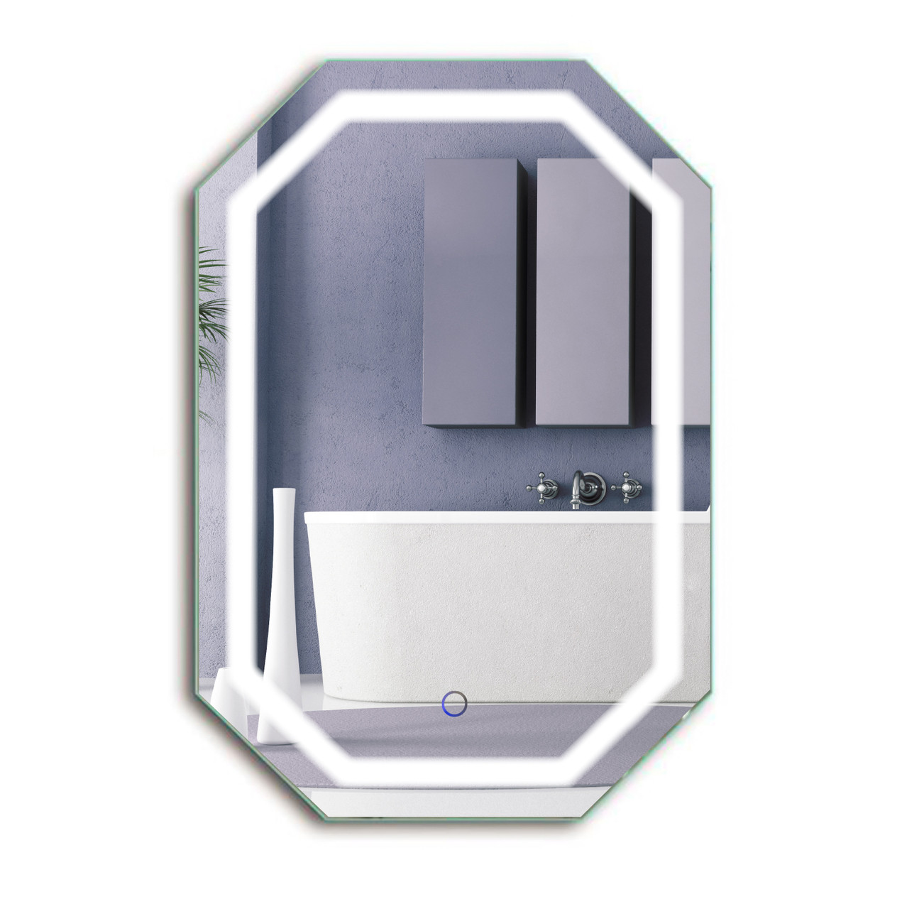 1bb6fba8cc9d ... Bathroom Lighted Mirror with Defogger   Dimmer - Tudor by Krugg. Your  Price   399.99 (You save  172.01). N