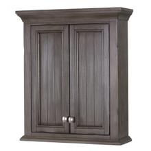 Foremost BAGW2428 Brantley Wall Cabinet - Distressed Grey