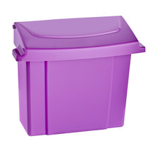 Alpine 451-PUR   451-PUR Sanitary Napkin Receptacle - Purple
