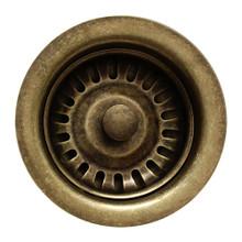 """Whitehaus RNW35-WB 3 1/2"""" Basket Strainer - Weathered Bronze"""