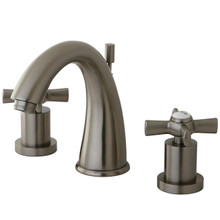 Kingston Brass KS2968ZX Two Handle Widespread Lavatory Faucet - Satin Nickel