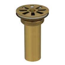Whitehaus 10.415-B Grid Drain - Polished Brass