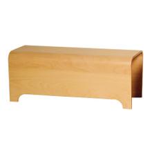 Whitehaus AEB100T Aeri Freestanding Ebony Wood Bench - Ebony