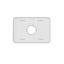 "Whitehaus WHREV2418 Stainless Steel Sink Grid for use with Fireclay 24"" Reversible Series Sinks"