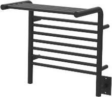 """Amba MSMB Jeeves Model M Shelf Towel Warmer - 22"""" W x 18"""" H x 12"""" D - Matte Black"""