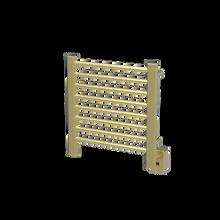"Amba Sirio S2121SB Towel Warmer & Space Heater  - 21 3/4"" W x 21 1/2"" H x 44 3/4"" D - Satin Brass"