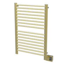 "Amba  Sirio S2942SB Towel Warmer & Space Heater - 32"" W x 44"" H - Satin Brass"