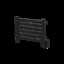"""Amba Quadro Q2016MB Towel Warmer - 20 1/2"""" W x 16 3/4"""" H - Matte Black"""