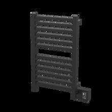 """Amba Quadro Q2033MB Towel Warmer - 20 1/2"""" W x 33 1/4"""" H - Matte Black"""