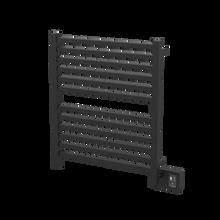 """Amba Quadro Q2833MB Towel Warmer - 28 3/8"""" W x 33 1/4"""" H - Matte Black"""
