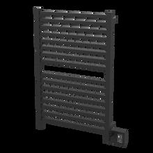 """Amba Quadro Q2842MB Towel Warmer - 28 3/8"""" W x 42 3/8"""" H - Matte Black"""