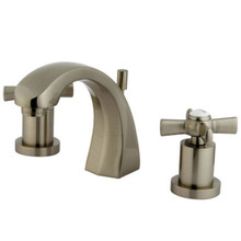 Kingston Brass KS4988ZX Two Handle Widespread Lavatory Faucet - Satin Nickel