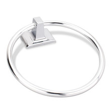 Hardware Resources BHE1-06PC Bridgeport Towel Ring - Polished Chrome
