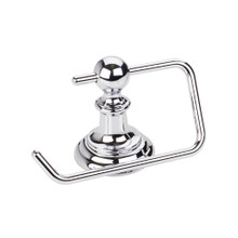 Hardware Resources BHE5-07PC Fairview Euro Toilet Tissue Paper Holder - Polished Chrome
