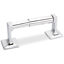 Hardware Resources BHE1-01PC-R Bridgeport Toilet Tissue Paper Holder - Polished Chrome