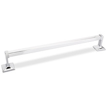 Hardware Resources BHE1-03PC-R Bridgeport 18 Inch Towel Bar - Polished Chrome