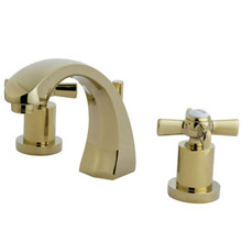Kingston Brass KS4982ZX Two Handle Widespread Lavatory Faucet - Polished Brass