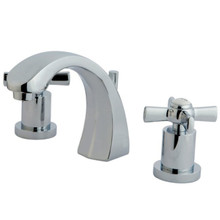 Kingston Brass KS4981ZX Two Handle Widespread Lavatory Faucet - Polished Chrome