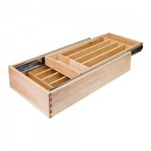 Hardware Resources CD15 15 Inch Double Cutlery Drawer