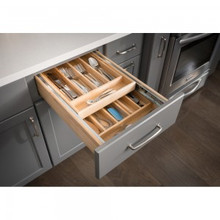 Hardware Resources CD18 18 Inch Double Cutlery Drawer