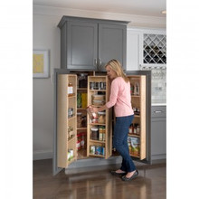 Hardware Resources PSO45 Pantry Swing Out Cabinet 12 Inch x 8 Inch x 45-5/8 Inch