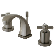 Kingston Brass KS4948ZX Two Handle Mini Widespread Lavatory Faucet - Satin Nickel