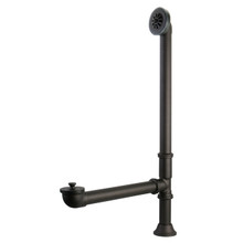Kingston Brass CC2085 Clawfoot Tub Waste And Overflow Drain - 20 Gauge - Oil Rubbed Bronze
