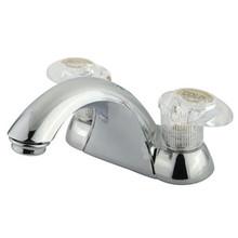 "Kingston Brass Two Handle 4"" Centerset Lavatory Faucet - Polished Chrome KB2151LP"