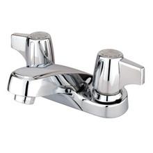 "Kingston Brass Two Handle 4"" Centerset Lavatory Faucet - Polished Chrome KB160LP"