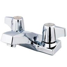 "Kingston Brass Two Handle 4"" Centerset Lavatory Faucet - Polished Chrome KB100LP"