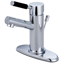 Kingston Brass Single Handle Lavatory Faucet with Pop-Up Drain - Polished Chrome FS8421DKL