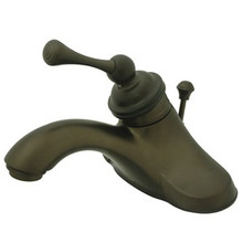 Kingston Brass Single Handle Lavatory Faucet with Pop-Up Drain - Oil Rubbed Bronze