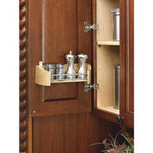 "Richelieu 42311452 Door Storage Tray 13 3/4"" - Natural Maple Wood"