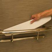 Invisia INV-SHS-BS Shampoo & Soap Shower Shelf / Grab Bar - Brushed Stainless