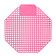Alpine 4111-CHERRY Urinal Screen - Pack of 10 - Cherry Scented - Pink