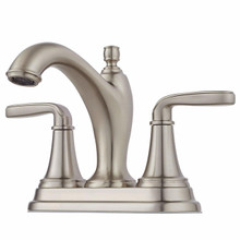 Pfister LG48-MG0K Northcott Two Handle Centerset Lavatory Faucet - Brushed Nickel