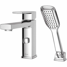 Pfister RT6-2DAC Deckard Single Handle Roman Tub Faucet Trim with Handshower - Chrome