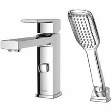 Pfister RT6-2DAC Deckard Single Handle Roman Tub Faucet Trim with Handshower - Chrome