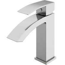 VIGO VG01015BN Satro Single Hole Bathroom Faucet In Brushed Nickel