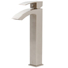 VIGO VG03007BN Duris Vessel Bathroom Faucet In Brushed Nickel