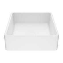 VIGO VG04001 Dianthus 14 1/2 inch Matte Stone Vessel Bathroom Sink