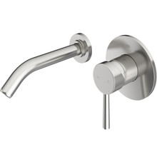 VIGO VG05001BN Olus Wall Mount Bathroom Faucet In Brushed Nickel