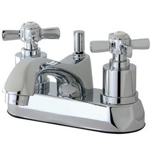 Kingston Brass KS4261ZX Two Handle Centerset Lavatory Faucet - Polished Chrome