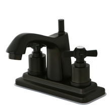 Kingston Brass KS8645ZX Two Handle Centerset Lavatory Faucet - Oil Rubbed Bronze
